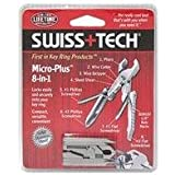 Swiss+Tech MPCSS Micro Plus 8 in 1 Keyring Tool