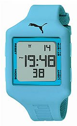 Puma Slide Chrono Digital Grey Dial Unisex watch #PU910791004