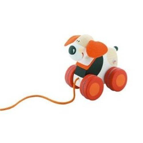 Sevi Mini Pull Along Toy, Dog