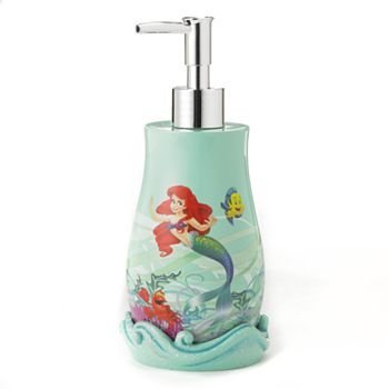 Ariel the little mermaid lotion soap dispenser home garden bathroom accessories dispensers - The little mermaid bathroom decor ...