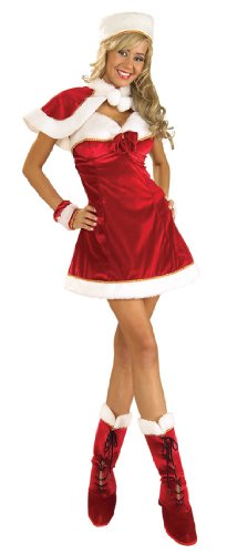 Rubie's Costume Women's Santa's Miss Inspiration Dress
