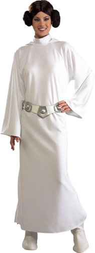 Deluxe Princess Leia Costume - Standard - Dress Size 10-12