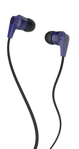 Skullcandy (S2IKDZ-043)-Ink'd 2-In ear bud-Purple/Black