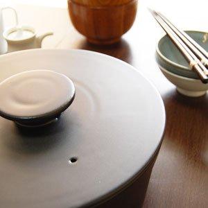 セラミックジャパン do-nabe 190 IH対応土鍋19cm ブラック DN-190IH