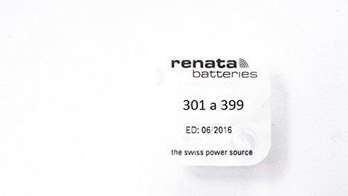 Renata - Pile bouton oxyde argent 396 RENATA 1.55V 32mAh - Blister(s) x 1