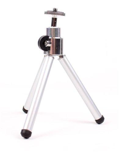 Stativ im Taschenformat mit Teleskopbeinen für Panasonic Lumix DMC-TZ57, DMC-TZ70, DMC-ZS50, DMC-FT30, DMC-TS30 und DMC-SZ10 Kompakt Kameras - von DuraGadget