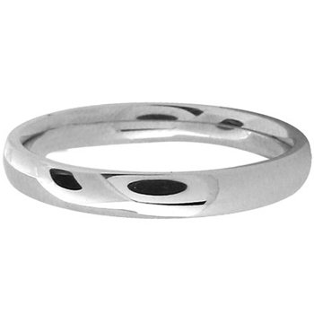 Size 5 -Inox Jewelry Women's 316L Stainless Steel Band Ring