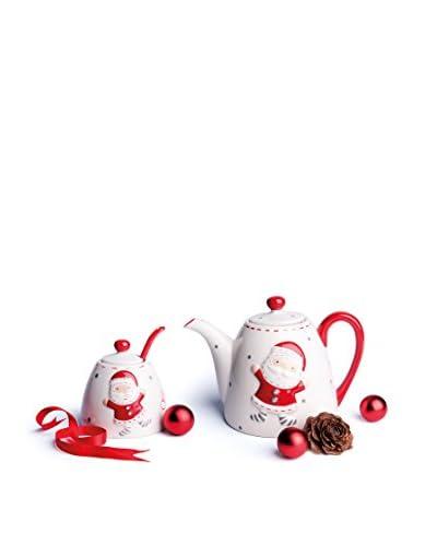 JoyFul Christmas Set Tè Christmas Bianco/Rosso