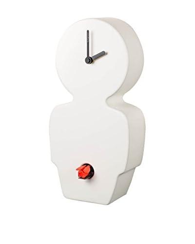 Diamantini & Domeniconi Reloj de Cuco Adamo Blanco