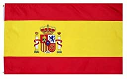 zooyoo? Spain National Country Flag: 3x5ft