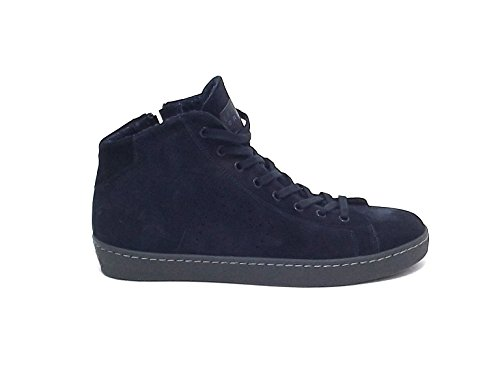 Leather Crown uomo, M133, sneakers camoscio blu nr 43 A6102