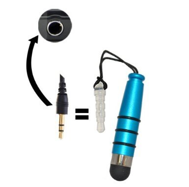 Accessory Master 5055716377866 Jack Touchscreen Stylus für Alcatel One Touch Star 6010D blau