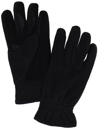 UR Men's Fleece Glove, Black, Small/Medium