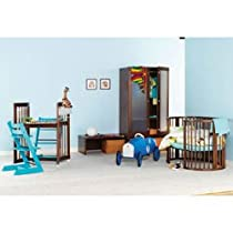 Hot Sale Stokke Sleepi Crib, Walnut Brown