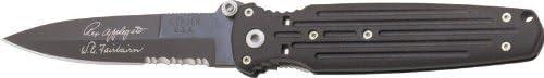 Gerber 05786 Applegate Covert Double Bevel Titanium Knife Black