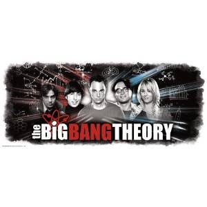 RoomMates RMK2324GM The Big Bang Theory Wall Graphic Peel and Stick Giant Wall Decals, 1-Pack