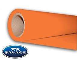 Savage Widetone Seamless Background Paper 107 in. x 36 ft. - Tangelo 82-12