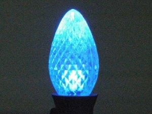 Blue C7 Led Retrofit Christmas Bulb Replacement