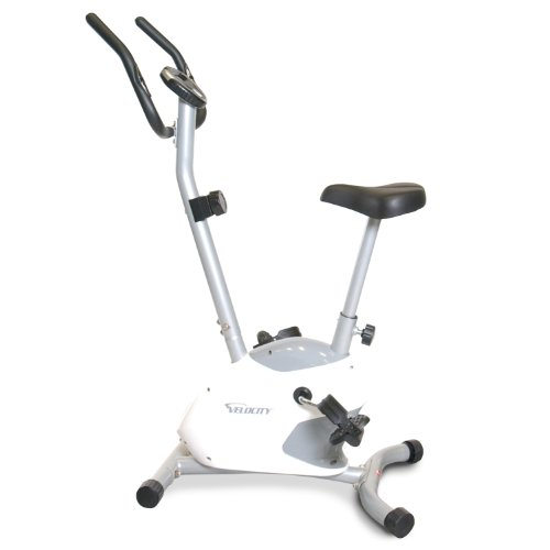 Velocity Exercise Magnetic Upright Exercise Bike