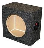 "Ground Shaker SQ6.5 6.5"" Single Square Speaker Box"