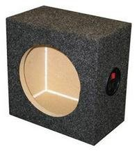 "Ground Shaker Sq6.5 6.5"" Single Square Speaker Box"