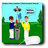 Londons Times Funny Music Cartoons – Golf Drivers – Mouse Pads Reviews