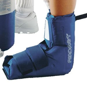 Aircast Ankle / Foot Cryo/Cuff - ICE and COMPRESSION Therapy for Injuries