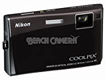 Nikon Coolpix S60 10MP Digital Camera with 5x Optical Vibration Reduction (VR) Zoom (Espresso Black)