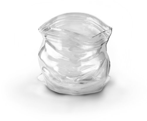 Fred & Friends UNZIPPED Hand-Blown Glass Bowl