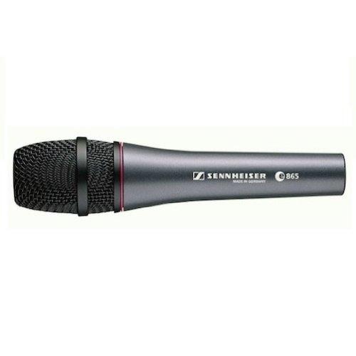 Sennheiser E 865 Super-Cardioid Pre-Polarised Condenser Microphone