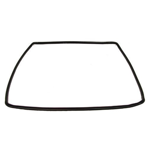 Ariston Oven Cooker Door Seal Rubber 4 Sided Gasket with Rounded Corner Clips (Ariston Oven Parts compare prices)