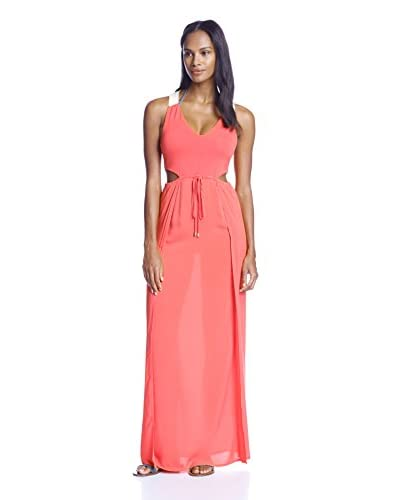 L*Space Women's Wonderwall Cutout Maxi Coverup