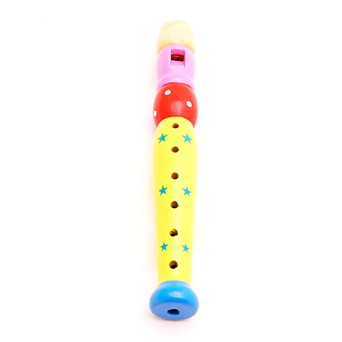 Lacquered Wooden Flute Star,T00076 - 1