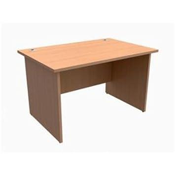 417698 - escritorio clásico Trexus caberero Rectangular W1200xD800xH725mm haya