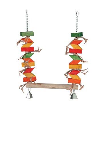 Cheap Paradise Toys XL Parrot Swing, 20-Inch W by 30-Inch L (B003PLE9YO)