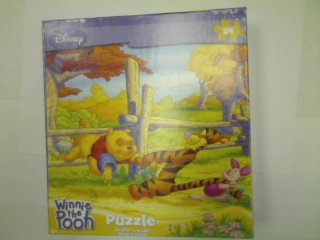Cheap Fun Disney Winnie the Pooh 24-Piece Jigsaw Puzzle (Tight Spot) (B0039KEU0E)