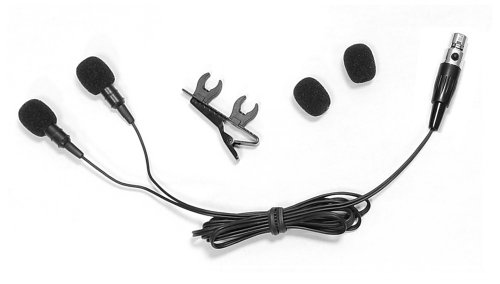Pyle Plms48 Dual Electret Condenser Cardioid Lavalier Microphone