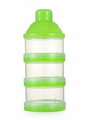 Hosaire-1X-Baby-Kids-Travel-Tragbare-Milk-Powder-Formula-Dispenser-Container-Pot-Box-3-Compartment-Reis-Milchkannen-Aufbewahrungsbox-Artifactgrn