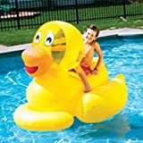 Giant Ducky Inflatable Ride-On