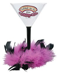 Laid Back C8S36 Birthday Baby Acrylic Martini Glass, 8-Ounce