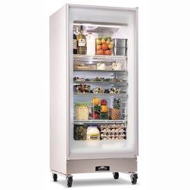 Commercial Glass Door Refrigerator - Left Hinged