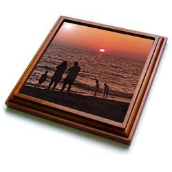 Vacation - 8x8 Trivet With 6x6 Ceramic Tile