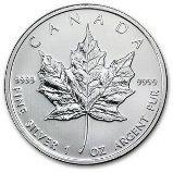 2011 Canadian Maple Leaf Silver Bullion Coin