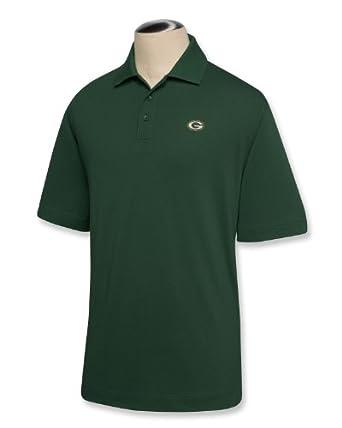 NFL Green Bay Packers Mens DryTec Championship Polo Shirt by Cutter & Buck