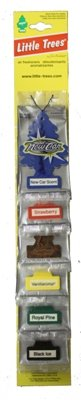 Little Trees Car Air Fresheners Assorted Scents Variety Smell - 24 Pack