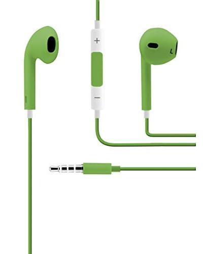 Unotec Auriculares Manos Libres Verde
