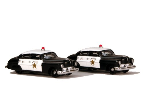 SceneMaster HO Scale Vehicles - Police Cruiser