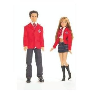Mattel Barbie Rebelde Mia and Miquel Giftset