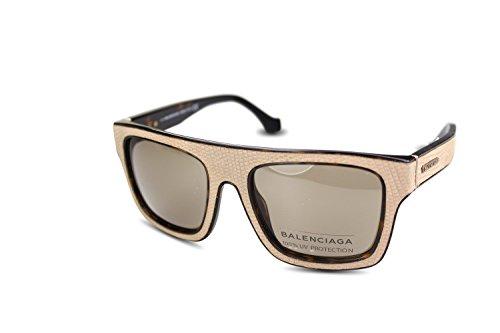 balenciaga-ba0010-geometrico-acetato-uomo-dark-brown-spotted-beige-brown47e-a-54-20-140
