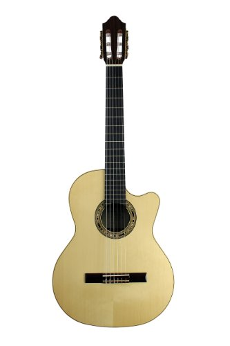 Kremona Orpheus Valley Fiesta F65Cw-Sb Cutaway/Electric Classical Guitar